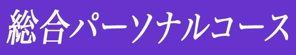 総合パーソナルコース
