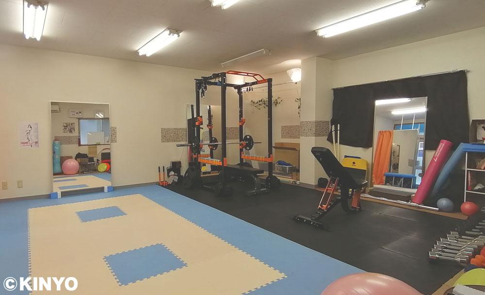 模様替え前トレーニングルーム